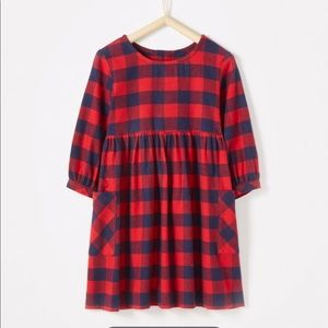 Hanna Andersson: NWT Red and Navy dress